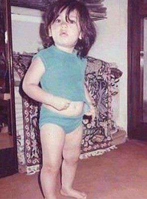 When KAREENA KAPOOR was born, see pictures of Bebo's childhood Funny Jokes