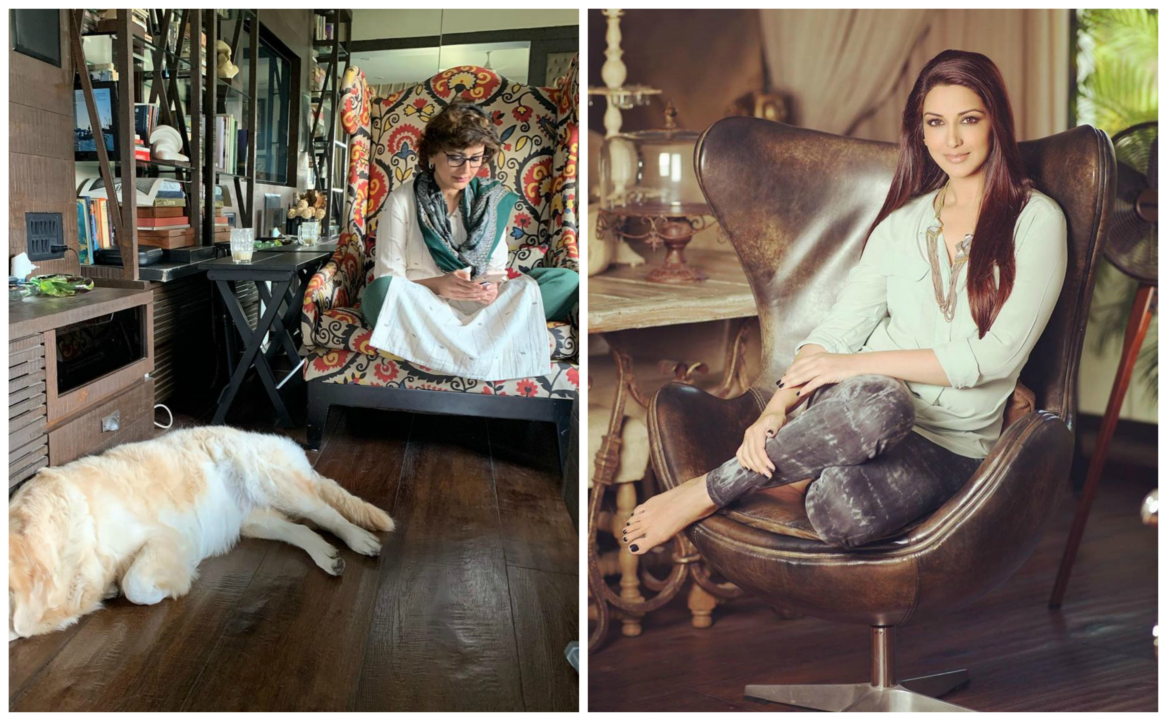 Sonali Bendre turns 46, see her home and family photos Funny Jokes